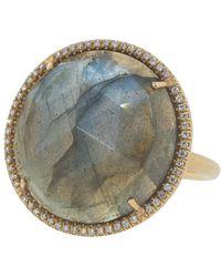 Irene Neuwirth - Rose Cut Labradorite Ring - Lyst