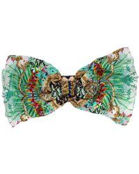 Camilla Champagne Coast Ring Headband - Green