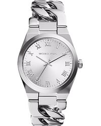 Michael Kors - Channing Silver-Toned Watch MK3392 - Lyst