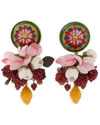 Dolce & Gabbana - Ornate Earrings - Lyst