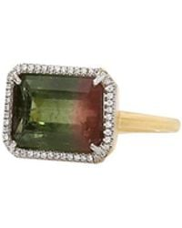 Irene Neuwirth - Watermelon Tourmaline Ring - Lyst