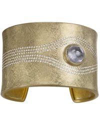 Todd Reed White Brilliant Diamond Spinnel Cuff - Metallic
