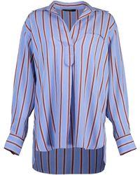 Smythe Over The Head Shirt - Blue