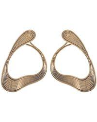Fernando Jorge - Medium Stream Hoop Earrings - Lyst