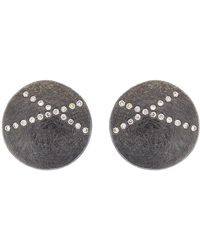 Todd Reed - White Diamond X Stud Earrings - Lyst
