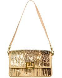 Givenchy - Gold Charm Shoulder Bag - Lyst