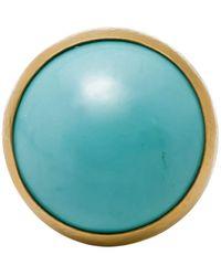 Gurhan Rune Turquoise Ring - Blue