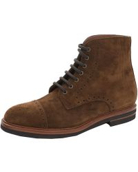 Brunello Cucinelli Suede Ankle Boots - Brown