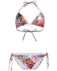 Mary Katrantzou - Triangle Bikini - Lyst
