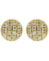 Dana Rebecca Lauren Joy Mini Disc Studs - Multicolour