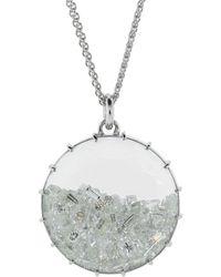 Renee Lewis Diamond Shake Necklace - Metallic