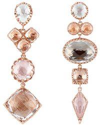 Larkspur & Hawk - Sadie Mismatched Earrings - Lyst