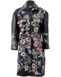 bd9034ba5515 Lyst - Alexander McQueen Shell And Ribbed Wool-blend Jersey Parka in ...
