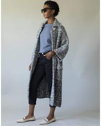 Chanel Woven Cropped Coat - Gray