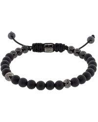 Shamballa Jewels - Black Diamond And Onyx Bead Bracelet - Lyst