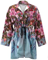 Clover Canyon Hanging Flowers Jacket - Multicolor