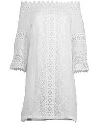 Temptation Positano Slovenia Mini Dress - White