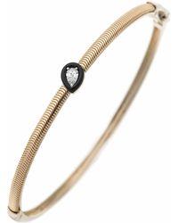 Nikos Koulis Pear Shape Diamond Feelings Bracelet - Metallic