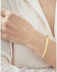 Kwiat Cobblestone Diamond Cuff Bangle - Yellow Gold - Metallic