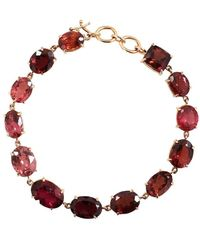 Irene Neuwirth Limited Edition Mixed Pink Tourmaline Bracelet - Multicolour