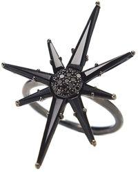 Bondeye - Hera Black Spinel Ring - Lyst