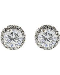 Fantasia Jewelry - Round Stud Earrings - Lyst