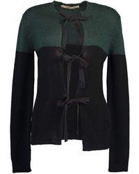 Marni Tie-fastening Cardigan - Black