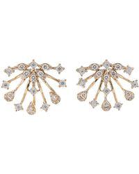 Dana Rebecca Diamond Earrings - Metallic