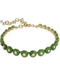 Fernando Jorge Surrounding Small Jade Bracelet - Green