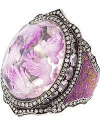Sevan Biçakci - Lavender Birds In Flight Ring - Lyst