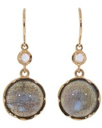Irene Neuwirth Labradorite And Diamond Drop Earrings - Multicolour