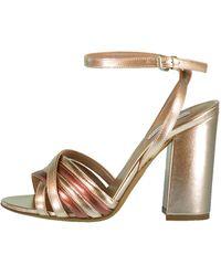 Tabitha Simmons Toni Strappy Block Heel Sandal - Multicolour