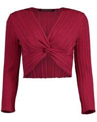 Antonino Valenti Urania Twist Pullover - Red