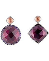 Larkspur & Hawk | Sadie Mis-matched Scarlet Earrings | Lyst