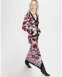 Hayley Menzies Jacquard Maxi Dress - Multicolour