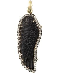 Sylva & Cie | Hand-carved Onyx Wing Pendant | Lyst