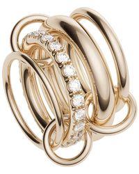 Spinelli Kilcollin Four Link Luna Rose Rings - Multicolour