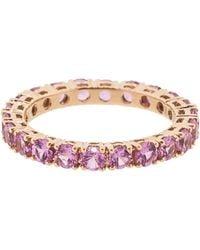 Dana Rebecca Pink Sapphire Eternity Ring