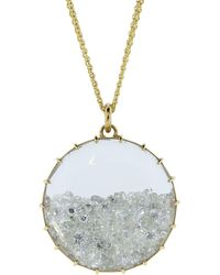 Renee Lewis Diamond Shake Necklace - Metallic