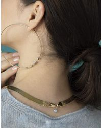Wwake Large Rhodes Necklace - Metallic