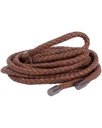 Brunello Cucinelli Rope Belt - Brown