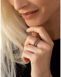 Mattia Cielo Rugiada Champagne Diamond Two Wrap Ring - Multicolour