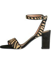 Tabitha Simmons Leticia Zebra Sandal - Multicolour