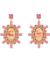 Larkspur & Hawk - Cora Large Chandelier Earrings - Lyst