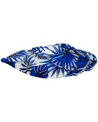NAMJOSH Blue Tropical Headband