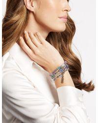 Marks & Spencer - Iced Gem Stretch Bracelet - Lyst