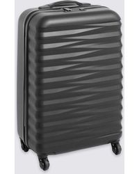 Marks & Spencer - Medium 4 Wheel Essential Hard Suitcase With Security Zip - Lyst