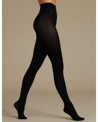 Marks & Spencer - 30 Denier Secret Slimmingtm Opaque Tights - Lyst