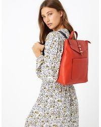 Marks & Spencer Soft Stud Backpack Bag - Orange
