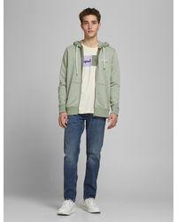 Marks & Spencer Jack & Jones Cotton Zip Up Hoodie - Multicolour